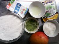 抹茶芒果糯米糍的做法步骤1