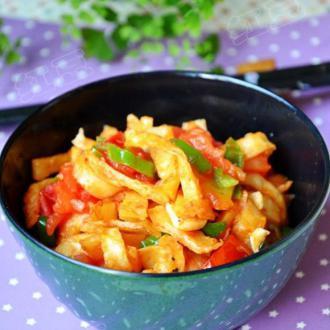 西红柿炒饼