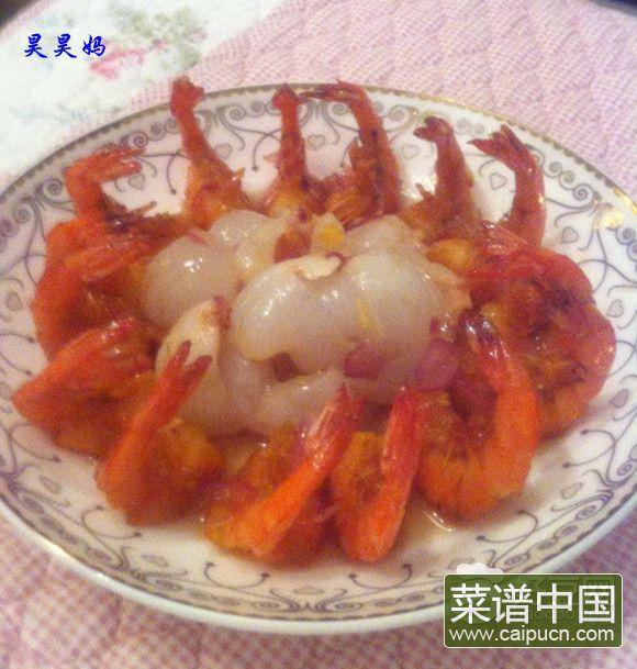 荔枝香酥凤尾虾