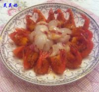 荔枝香酥凤尾虾的做法步骤12