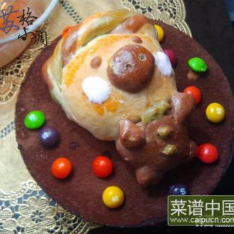 芒果慕斯生日蛋糕