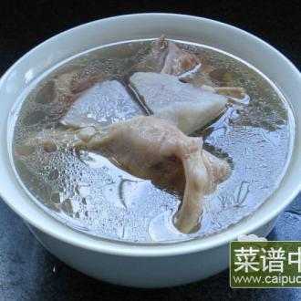 全番鸭槟榔芋汤