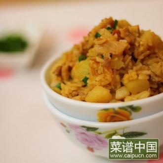五花肉土豆饭
