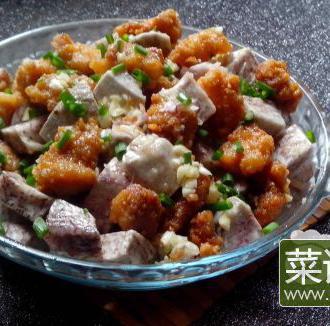 槟榔芋小酥肉