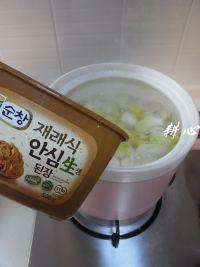 鱼丸大酱汤的做法步骤7