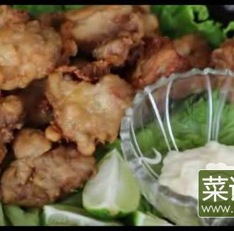 日式炸鸡块