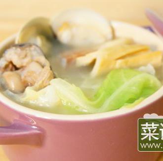 金华火腿煲汤