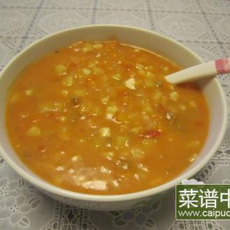 素什锦蘑菇汤