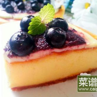 蓝莓纽约芝士蛋糕