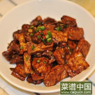 酱烧老豆腐