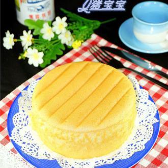 6寸炼奶棉花蛋糕