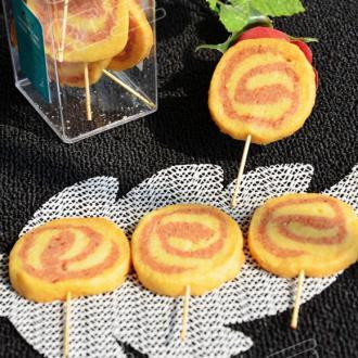 草莓棒棒糖饼干