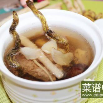 石斛沙参玉竹炖瘦肉
