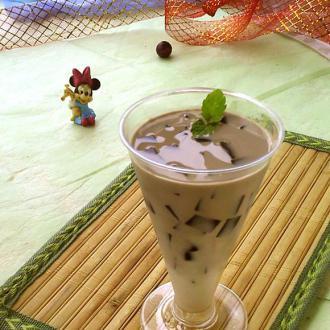 仙草蜂蜜奶茶