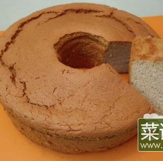 荞麦戚风蛋糕