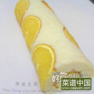 香橙瑞士卷