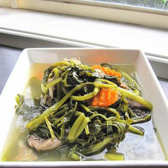 陈皮蜜枣西洋菜汤