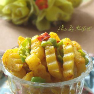 黄金咖喱土豆条