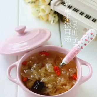 皂角米银耳汤