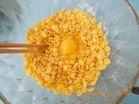 蛋香玉米片的做法步骤2