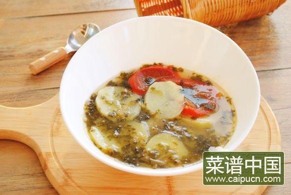 盐菜洋芋汤