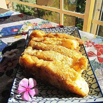 咸香芝麻鱼条