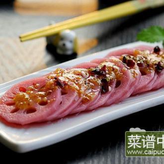 桂花胭脂藕