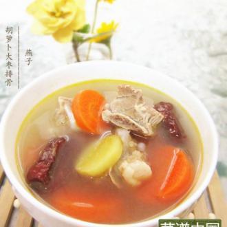 胡萝卜大枣排骨汤