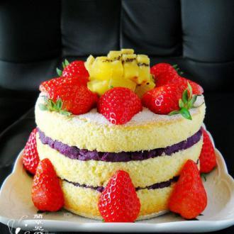 椰香裸蛋糕