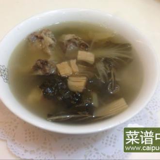 瑶柱猪骨菜干汤