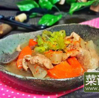 日式煮猪肠