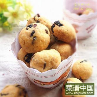 蓝莓椰子酥