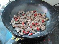 干辣椒炒鸭胗的做法步骤6