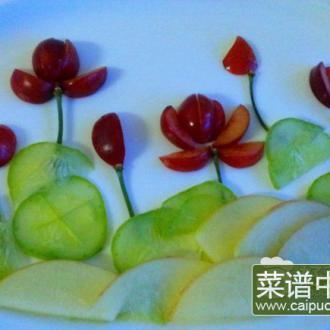 果蔬拼盘——荷花池