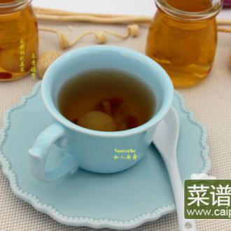 龙眼枸杞姜茶