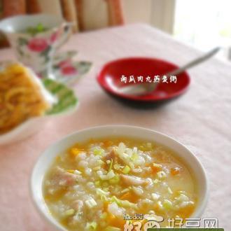 南瓜肉丸燕麦粥