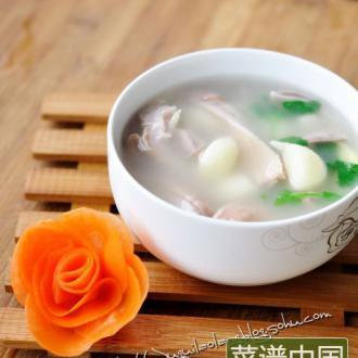 大蒜猪肚汤