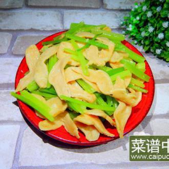 芹菜炒素鸡翅
