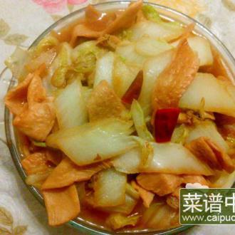 白菜炖素鸡翅
