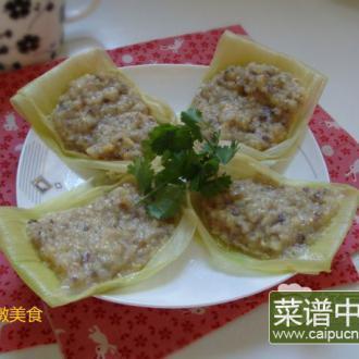 蒸玉米浆饼