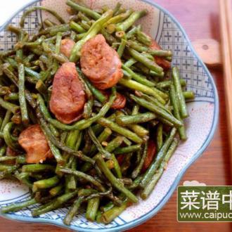 干肠炒豇豆角