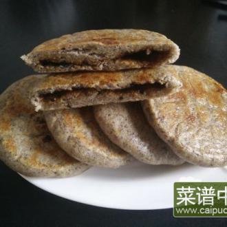 杂粮发面红糖饼