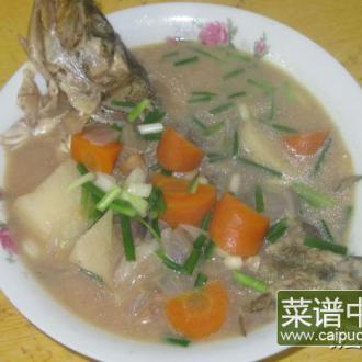 桂鱼胡萝卜山药汤