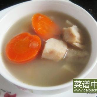 鲮鱼粉葛胡萝卜汤