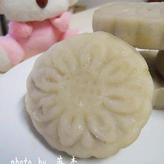 绿豆冰皮月饼