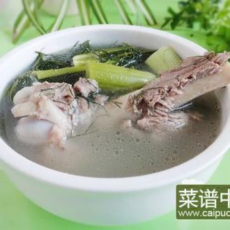 茴香棒骨汤