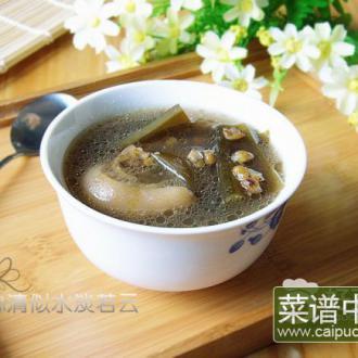 绿豆海带猪蹄汤