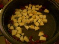 苹果酒酿鸡蛋汤的做法步骤4