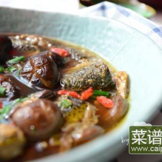 花雕炖鳝鱼