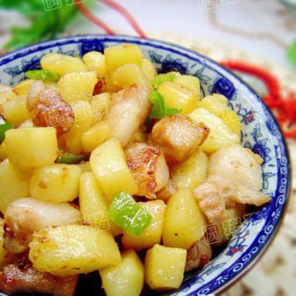 干烧土豆肉